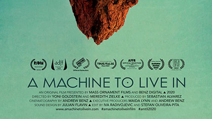 Poster de la película BARQ: A machine to live in