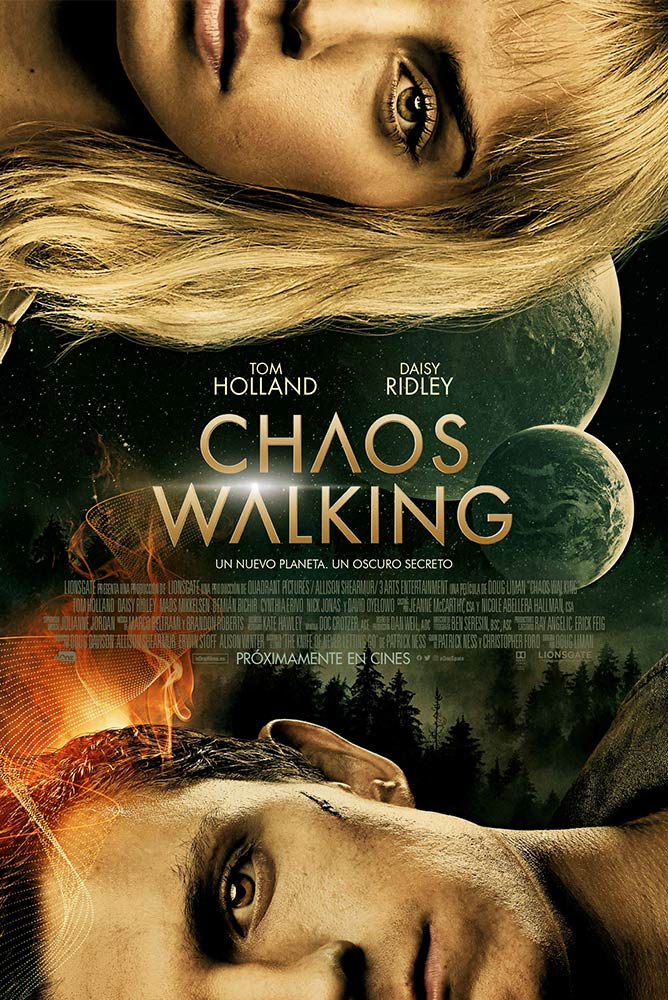 Cartel de chaos-walking