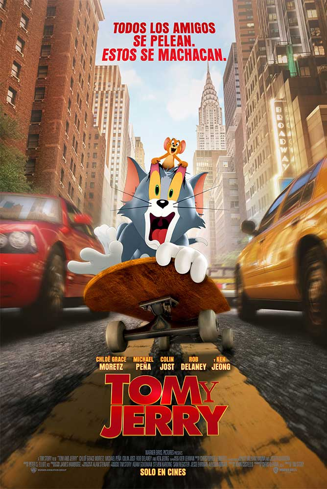 Cartel de 4dx-tom-y-jerry