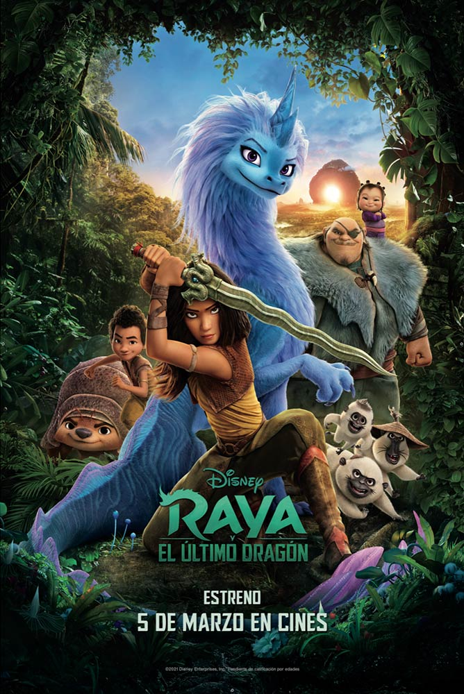 Cartel de 3d-4dx-raya-y-el-ultimo-dragon