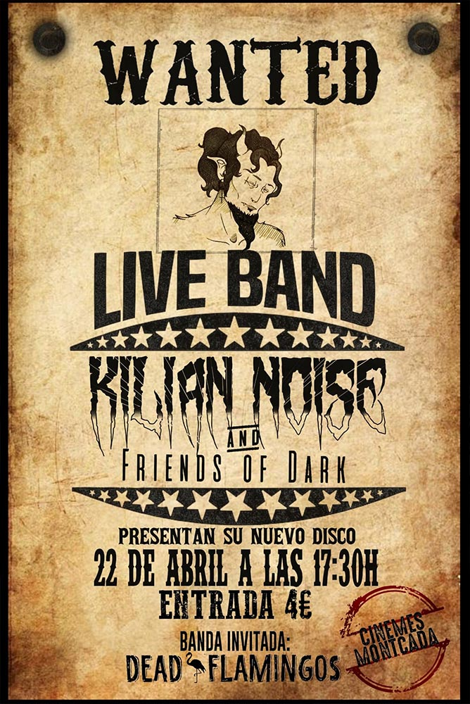 Live Band - Kilian Noise & Friends of dark (Directo)