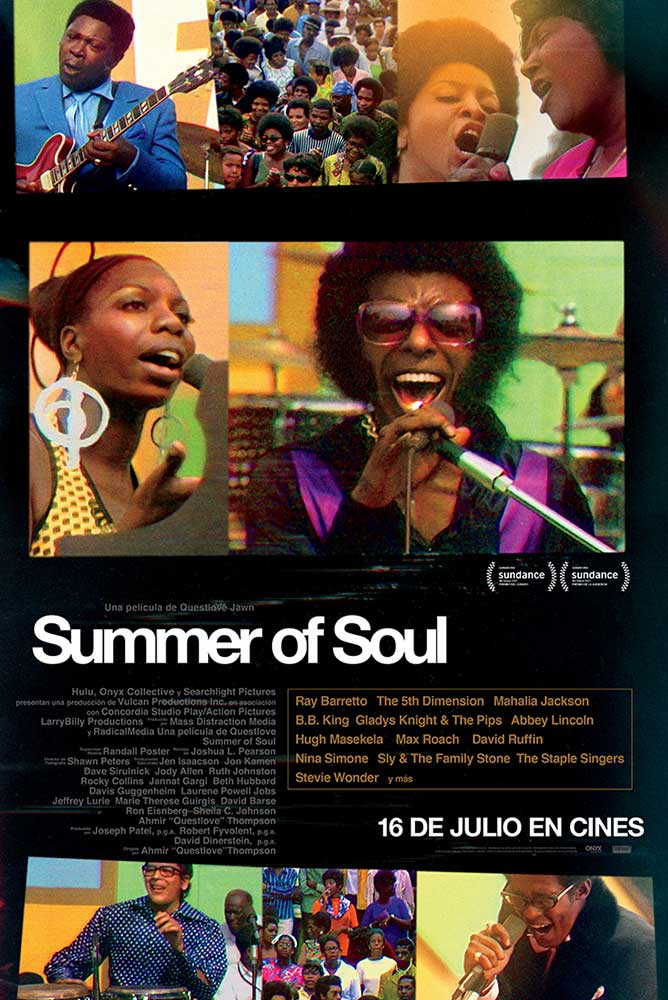 Poster de la película Summer of soul (...or, when the revolution could not be televised) (VOSE)